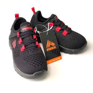 NWT RBX Black/Red Toddler Sneakers Size 8